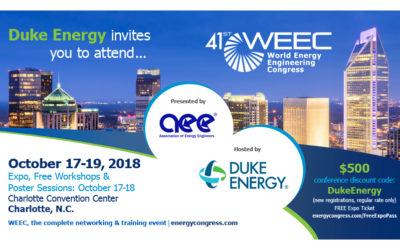 Duke Energy Postcard Design for Charlotte, NC Exop