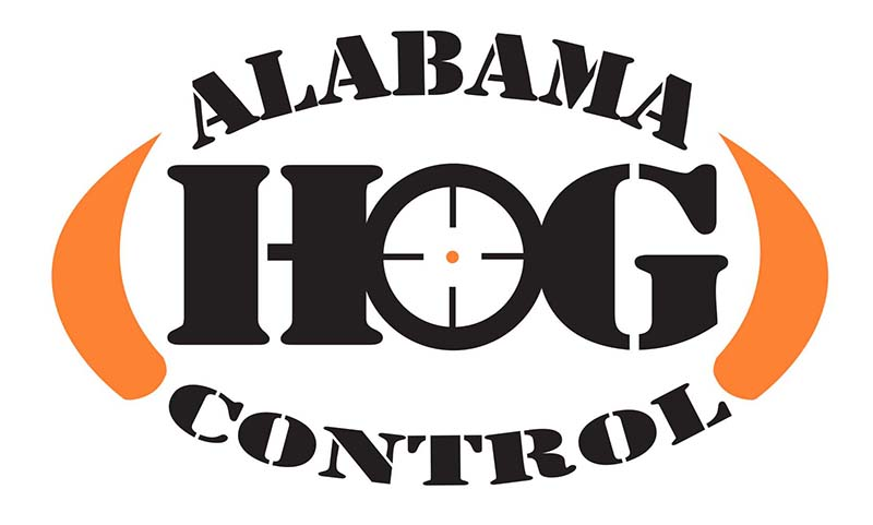 Alabama Hog Control Custom Logo Design Prattville and Montgomery, AL